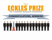 Congratulations to Eckles Prize winners