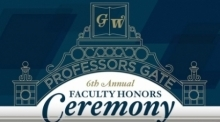 Graphic for Faculty Honors Ceremony