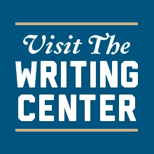 Visit the Writing Center