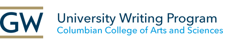 GW University Writing Program in the Columbian College of Arts & sciences
