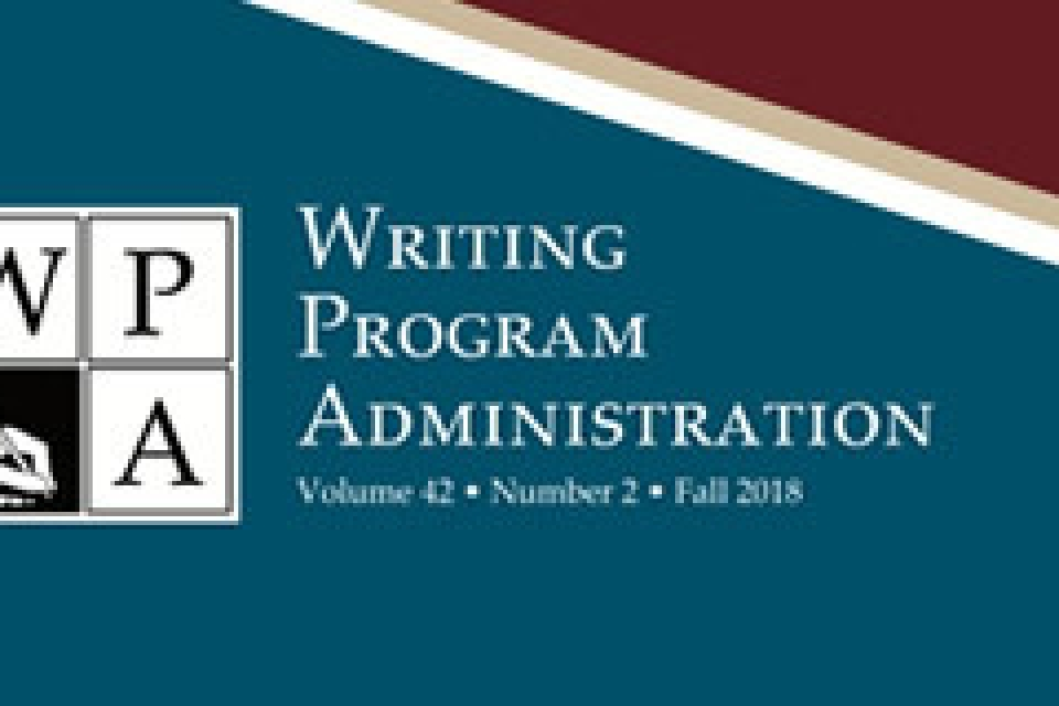 The CWPA's logo: four squares arranged with a W & P in top row, in the second row left square shows a hand & pencil, right an A.